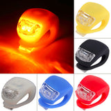 Set of 2 x Easy to Use Bicycle Front Rear LED Flash Light