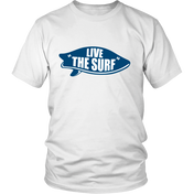 Live The Surf - White