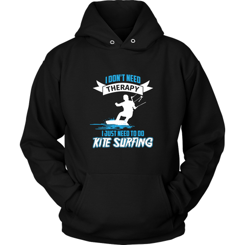 Just Need To Do Kite Surfing - Black