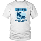 Kite Surfing Is The Answer - White