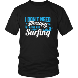 Just Need To Go Surfing - Black