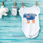 Winter Sheep Premium Screen Printed Onesie