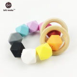 Silicone Teether Sensory Toy Bracelet Set - 2 pcs