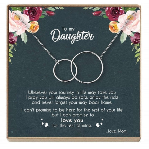 Mom To Daughter - The Forever Together Necklace