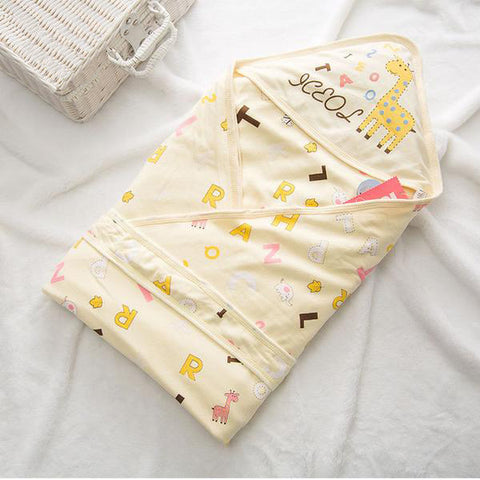 Newborn Giraffe Blanket 100% Organic Cotton