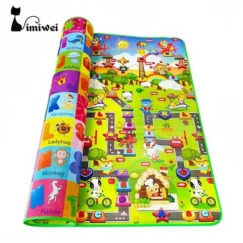 Image of Colorful Foam Play Mats For Kids
