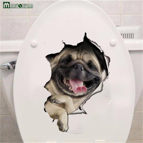 Pug Surprise Sticker