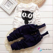 Little Kitty Baby Boy's Outfit
