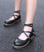 Gothic Lolita Leather Shoes