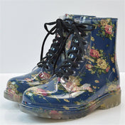 Night Blossom Rainboots