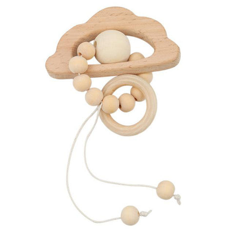Image of Cloud Teether Montessori Wood - Giveaway