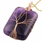 Tree Of Life Healing Stone Necklace