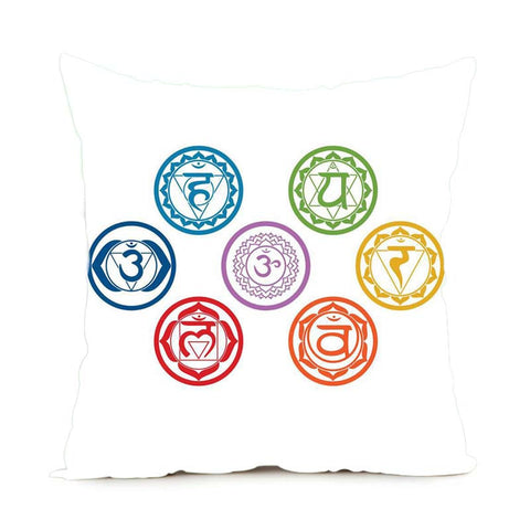 Chakras Satin Pillow Cases