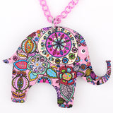 Hippie Elephant Necklace
