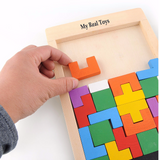 Wooden Tetris for All ages Giveaway - Fam Rex SPECIAL