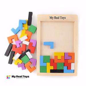 Wooden Tetris for All Ages
