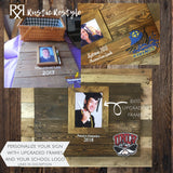 24X24 personalized graduation guest book party decor, class of 2019, high school commencement sign in book, college graduate memento