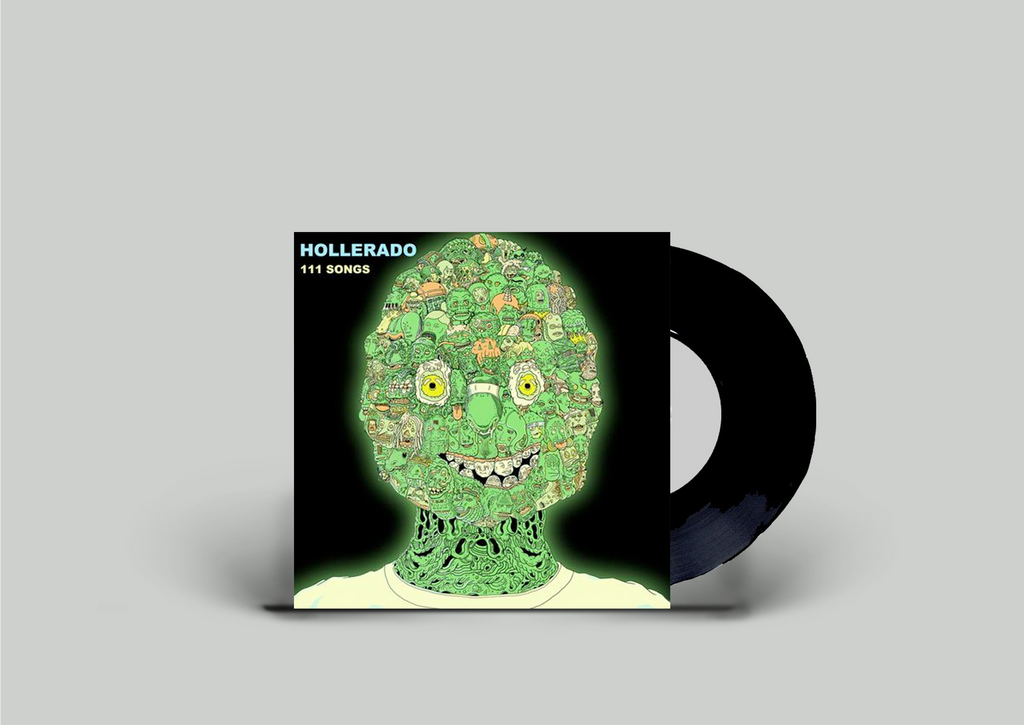 Hollerado - 111 Songs 7 Inch Vinyl