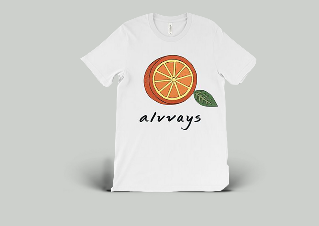 Alvvays - Orange T-Shirt