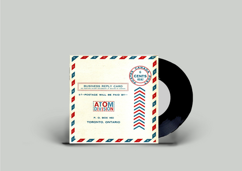 Atom Division - Self Titled 7 Inch