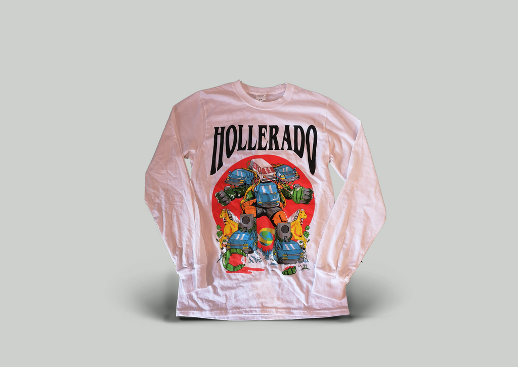 Hollerado - Long Sleeve Tour T-Shirt