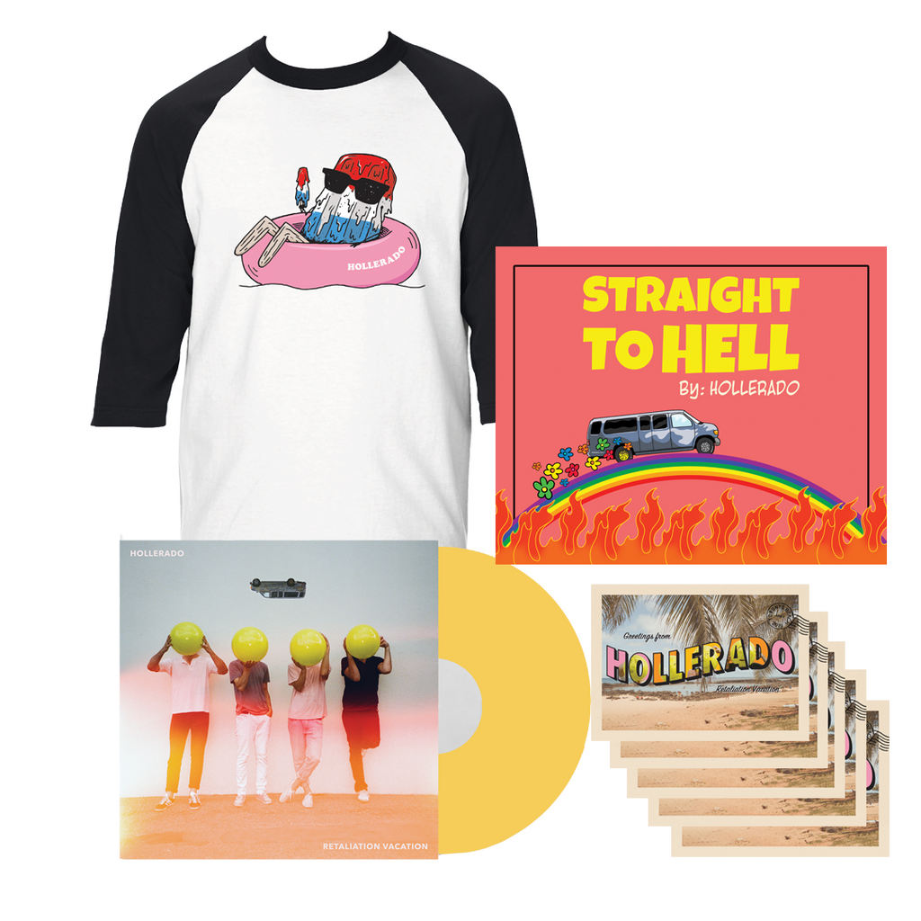 Hollerado - Retaliation Vacation Fan Bundle