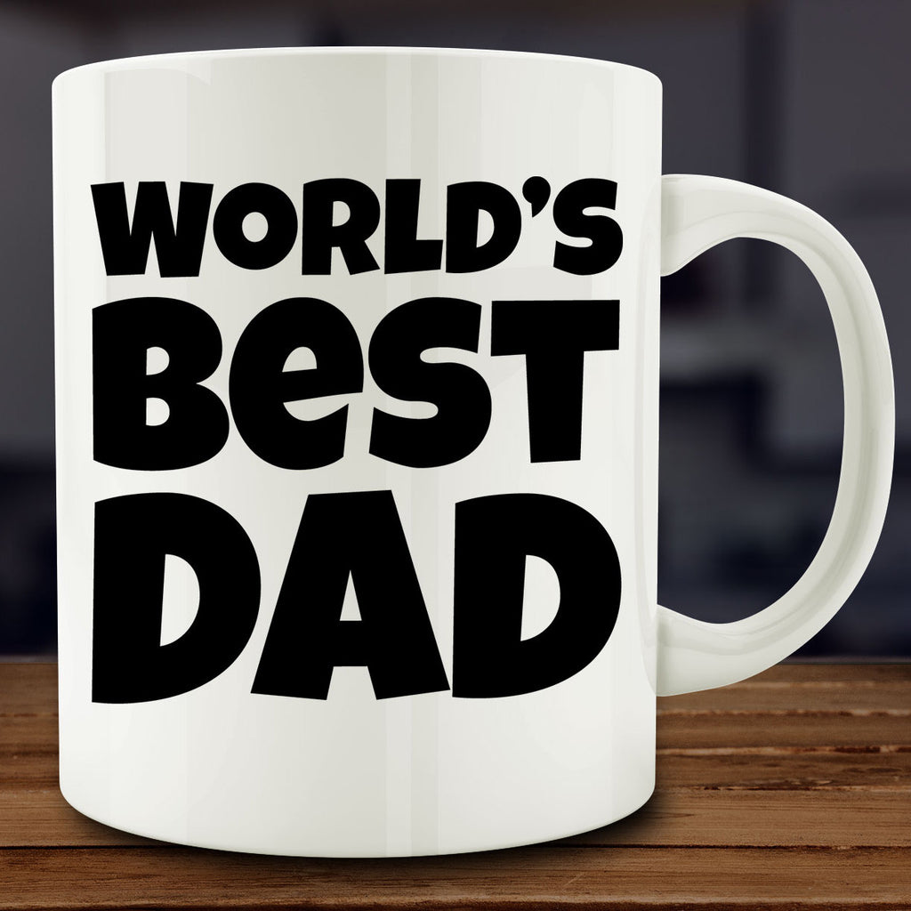 World's Best Dad Mug, 11 oz coffee tea father's day gift