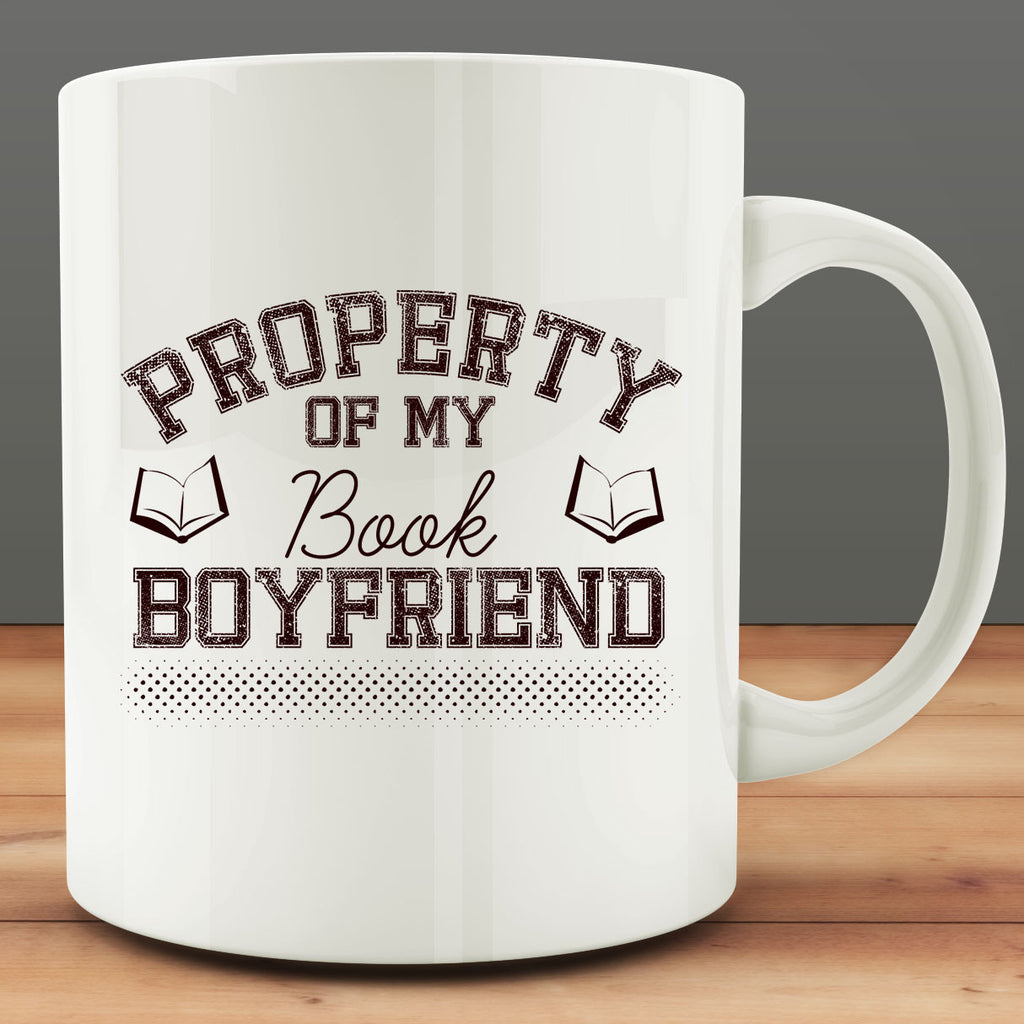 Property of My Book Boyfriend Mug