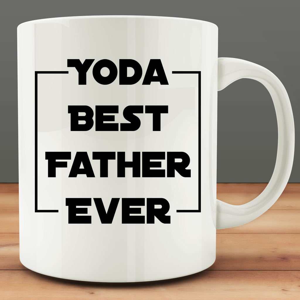 Yoda Best Father Ever Mug, gift for dad 11 oz coffee tea