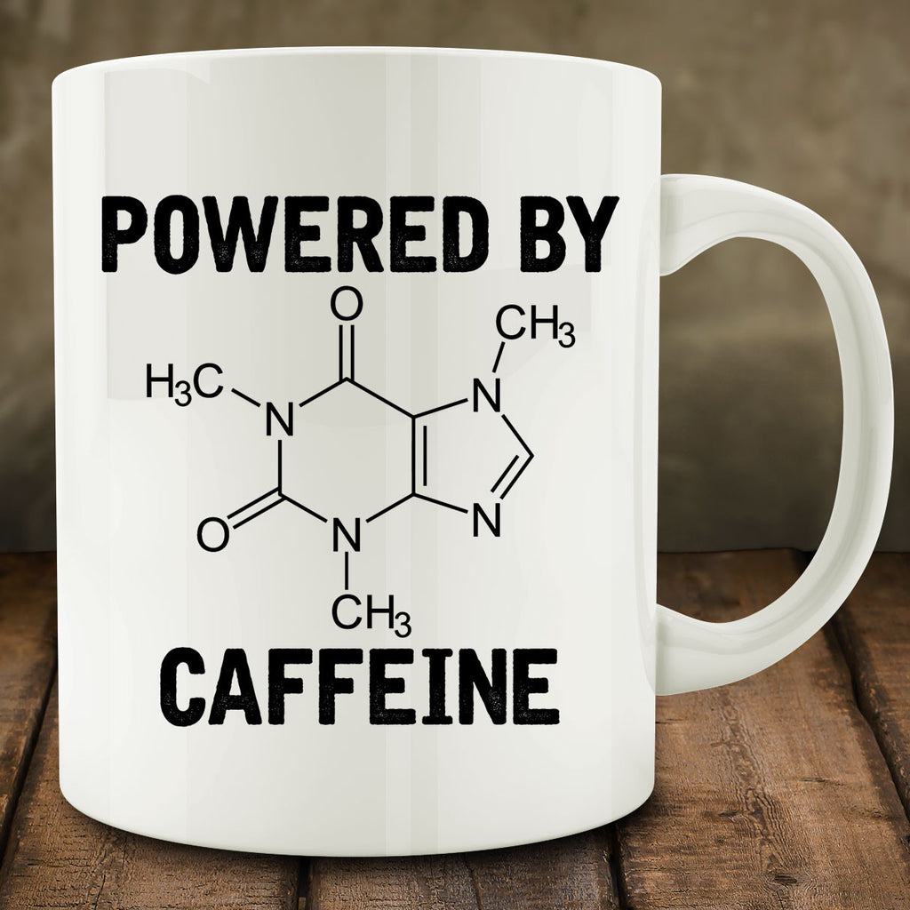 Powered by Caffeine Mug