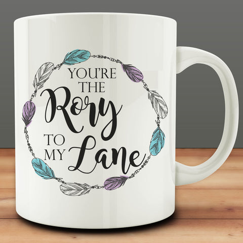 You're the Rory to My Lane Mug, best friend gift bff 11 oz coffee tea mug