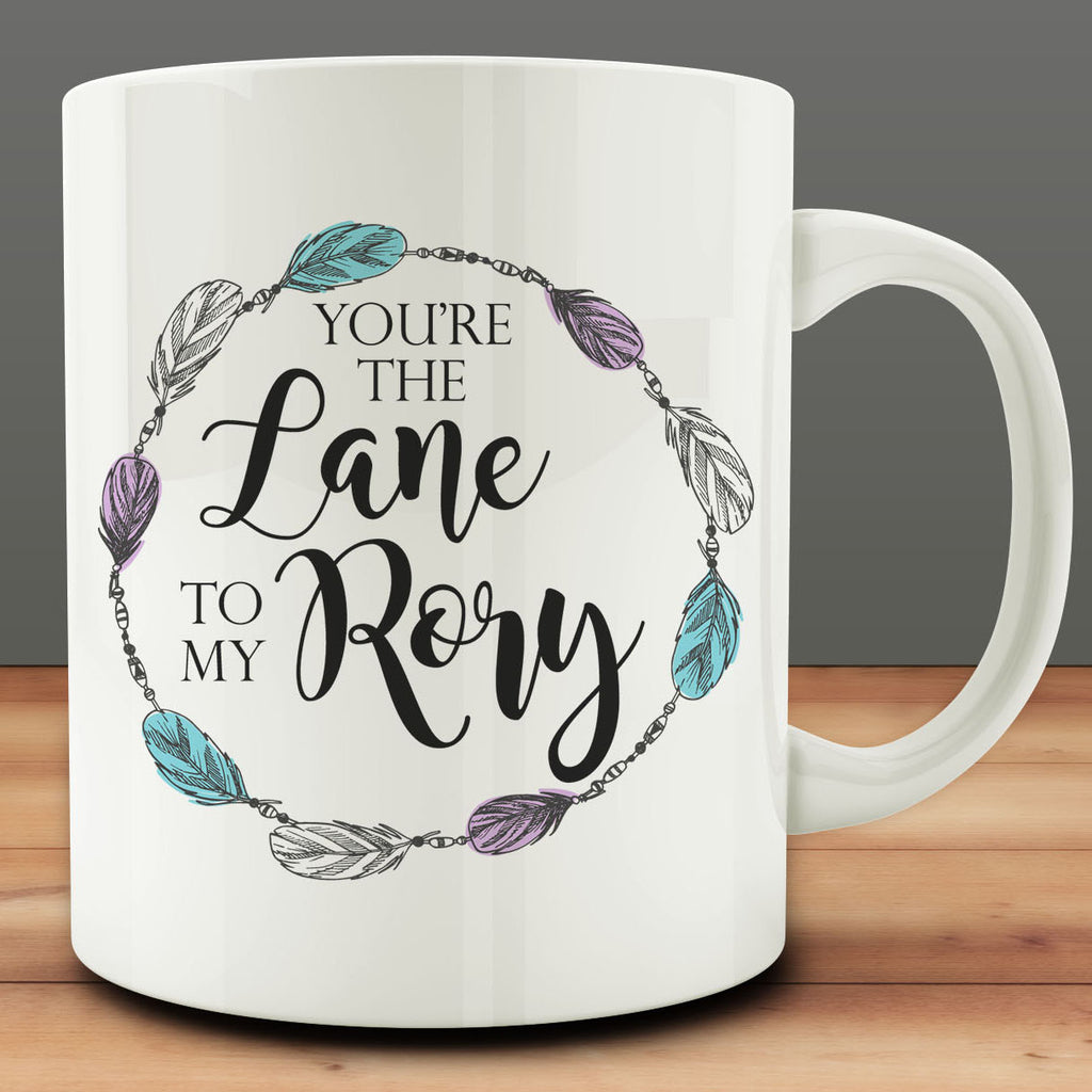 You're the Lane to My Rory Mug, best friend gift bff 11 oz coffee