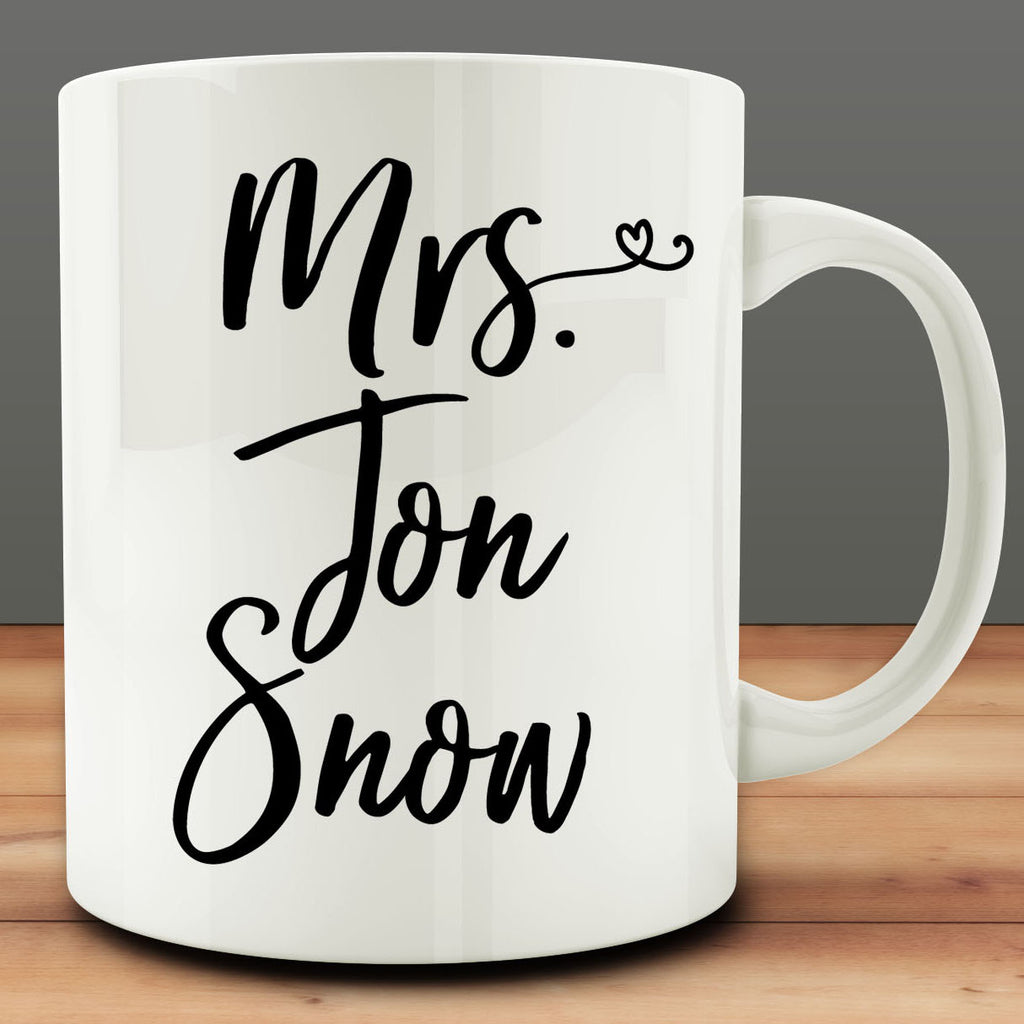 Mrs. Jon Snow mug