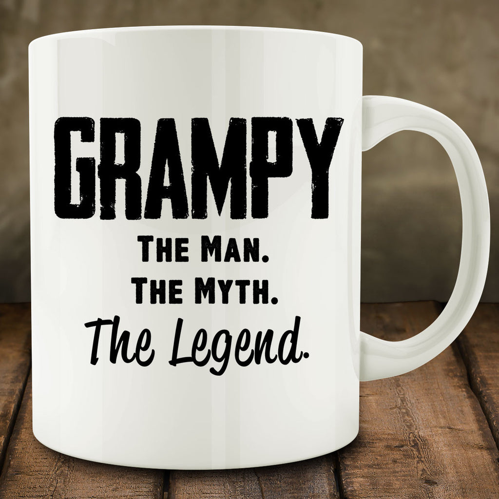 Grampy The Man The Myth The Legend Mug