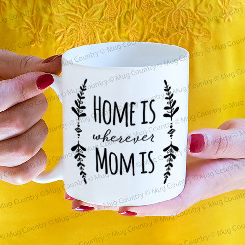 Home is Wherever Mom Is Mug