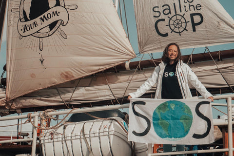 Taking it to the Seas with Climate Activist Tori Tsui