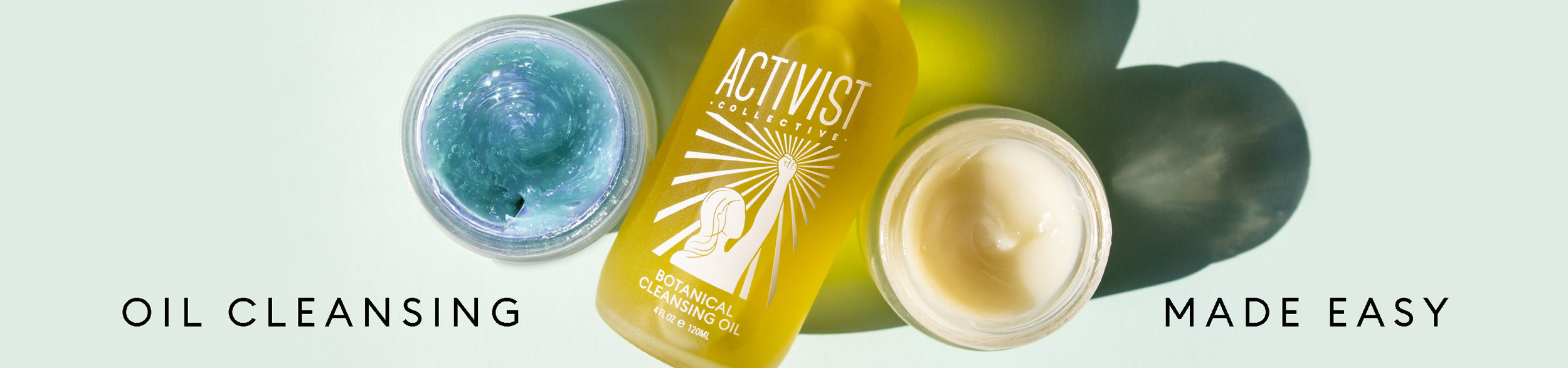 activist skincare cleansers