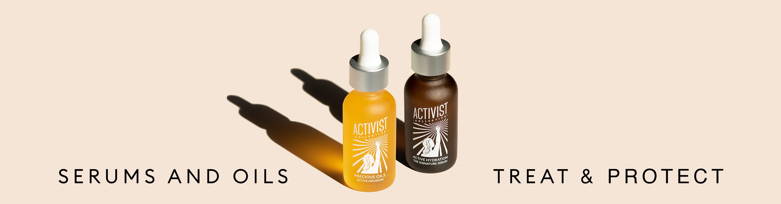 Serums and Face Oils by Activist Collective