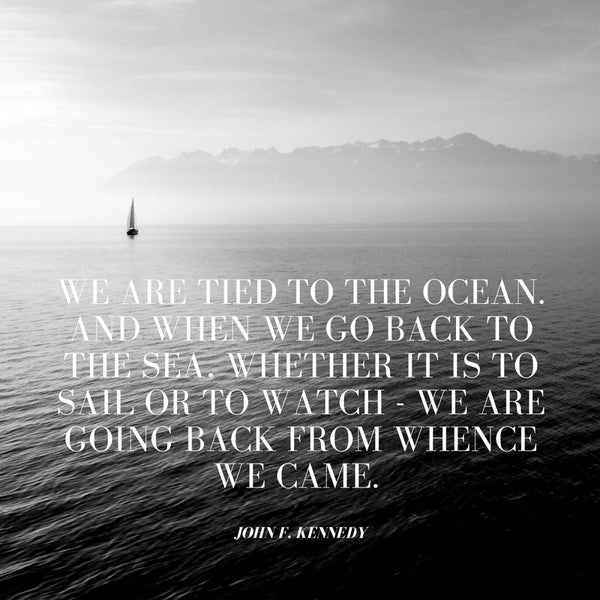 JFK Nautical Quote