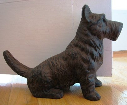 Scottish Terrier Dog Statue Door Stop