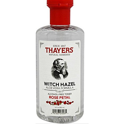 Thayers Alcohol-free Rose Petal Witch Hazel Toner (6 Pack) 12-oz. Bottles