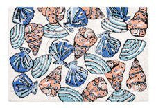 "Washable Seashells Rug (22""x34"")"