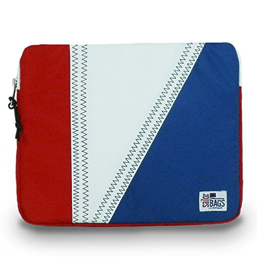 Sailor Bags Tri-Sail IPad Sleeve Backpack, One Size, Red/White/Blue