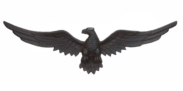 Cast Iron Eagle Plaque