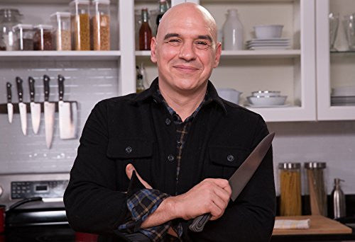 Ergo Chef Michael Symon Signature Knives with FREE Knife Roll Bag & Edge Guards