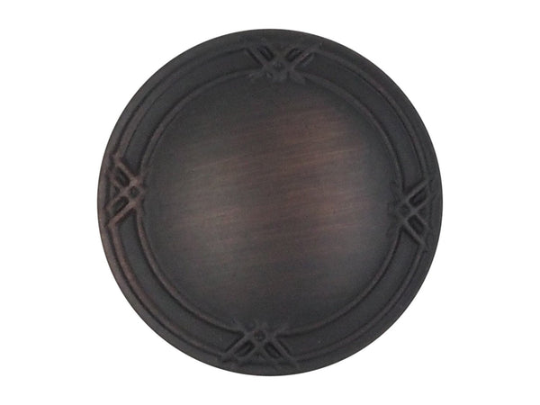 Oil Rubbed Bronze Cabinet & Drawer Knob (Multiple Pack Sizes)