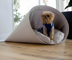 The Chiquita Taco Bed  Grey/Beige