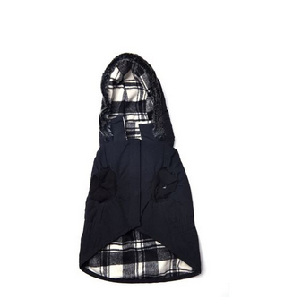 The Kennedy Reversible Hooded Coat