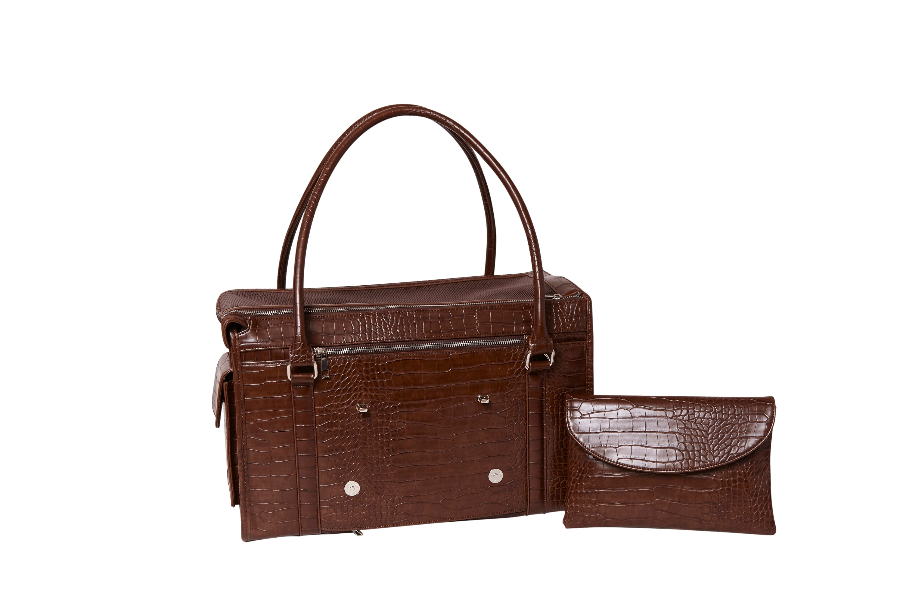 The Kuma Pet Carrier and Bed-Brown