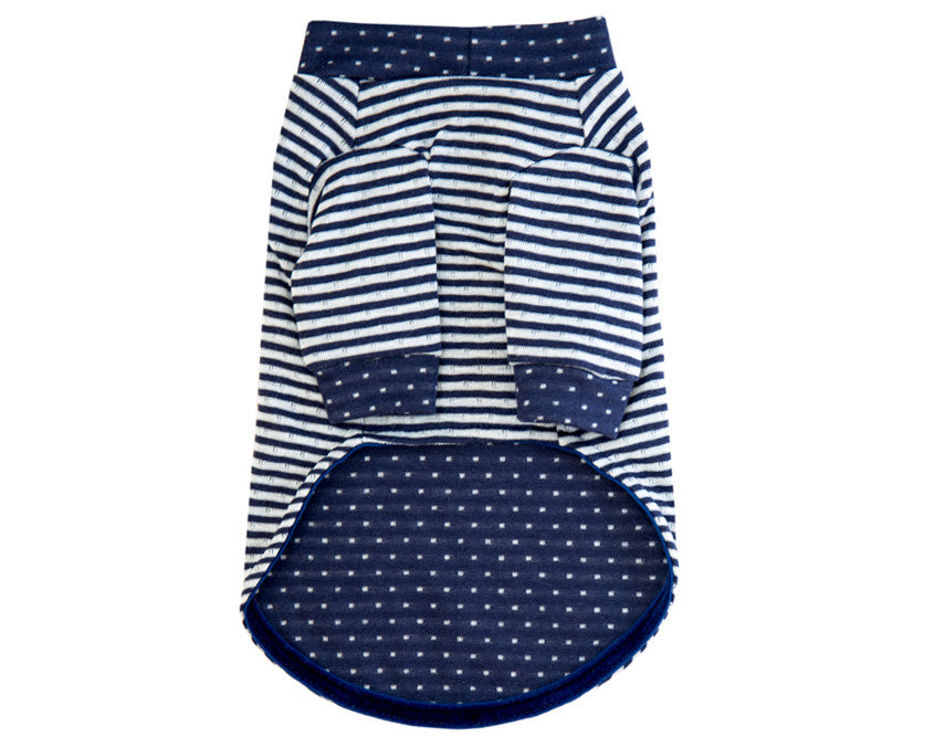 The Sidney - Navy Stripe